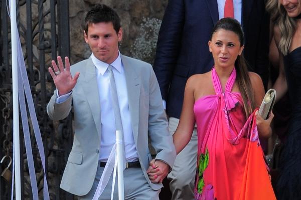 месси фото и его жена