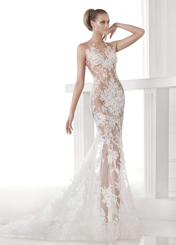 Эротическое свадебное платье