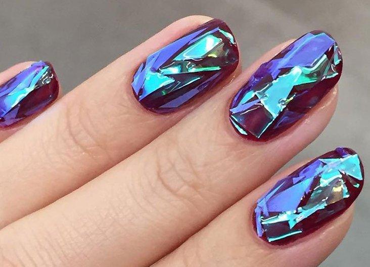 Необычные дизайны ногтей фото