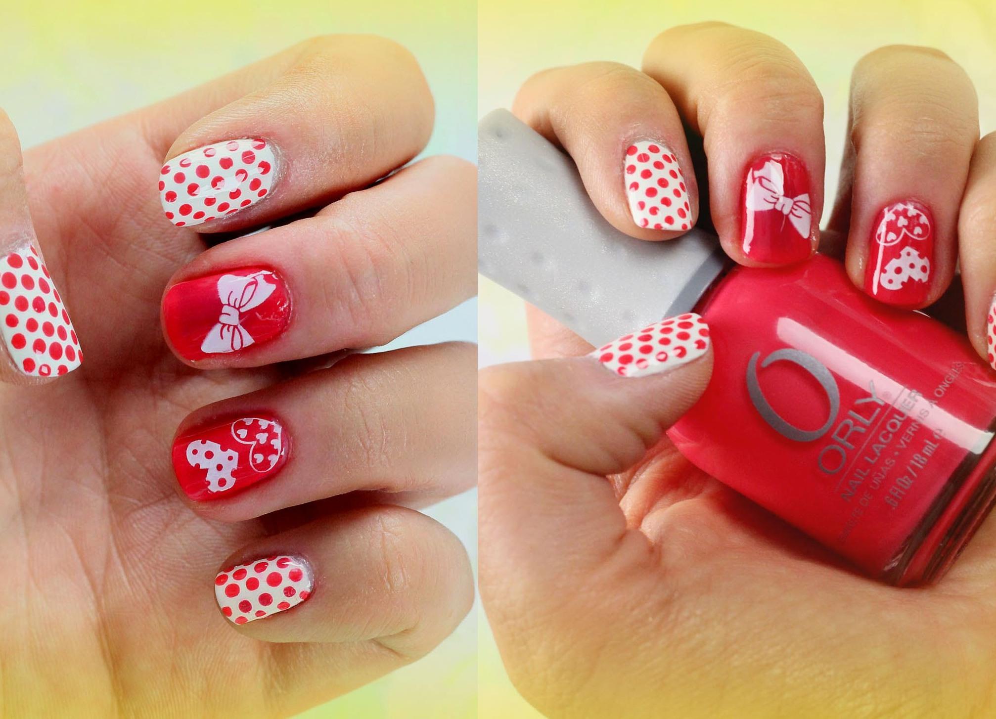 Идея маникюра на короткие ногти в домашних условиях фото