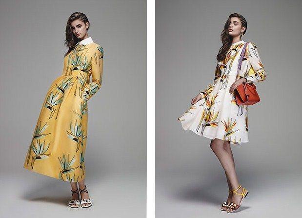 Модные тенденции весна лето 2016 платья