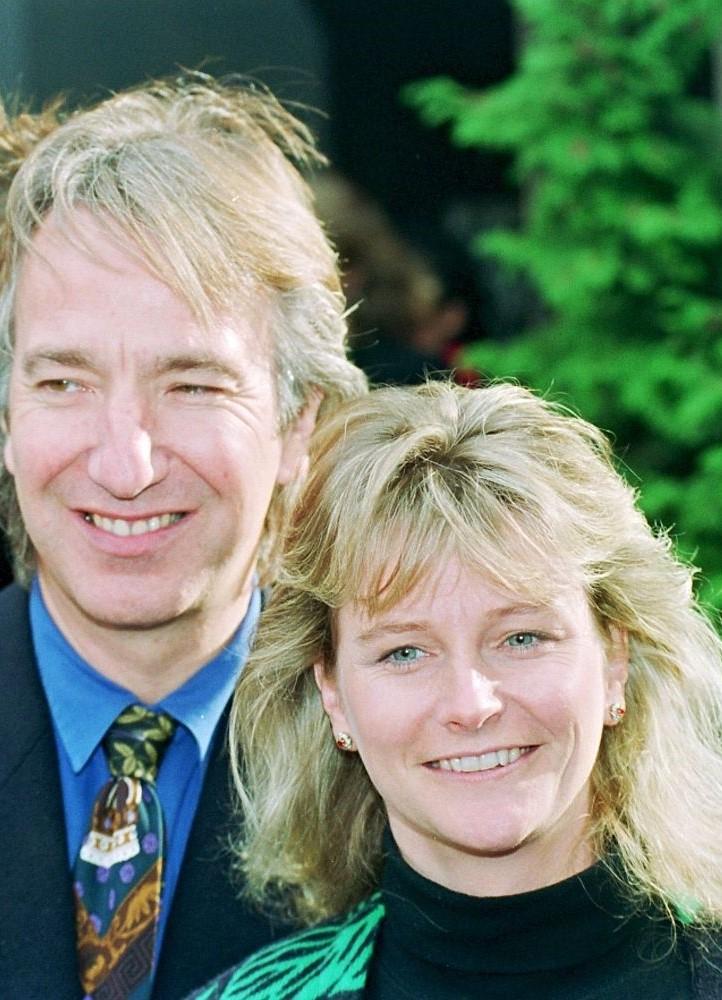 Алан Рикман с женой джонни депп новости