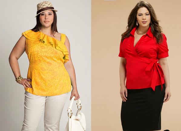 Стильные блузки для полных доставка