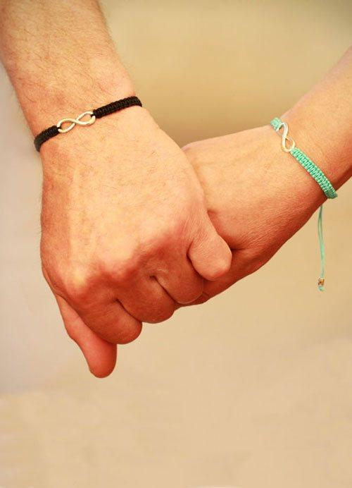 Браслеты на двоих своими руками