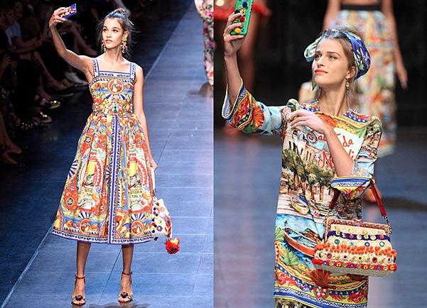Коллекция платьев дольче габбана 2016
