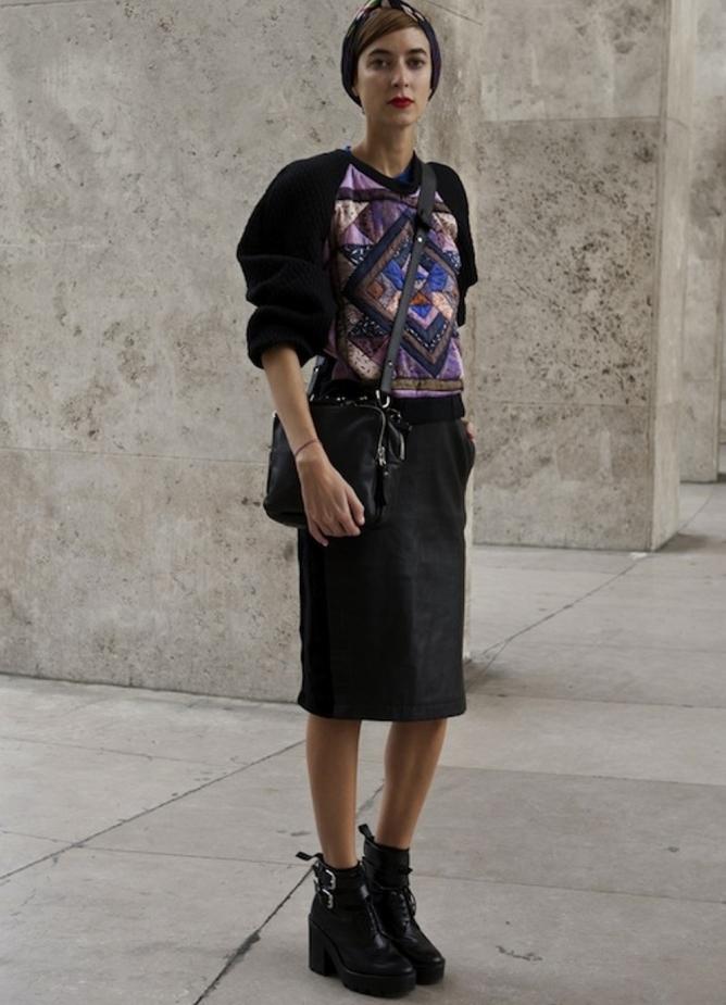 деловая юбка с изюминкой