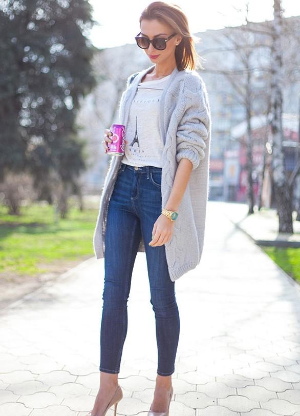 Модные детали образа девушки фото