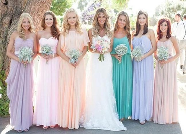Подружка невесты образ