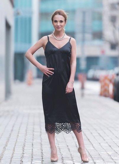 Фото платье комбинации
