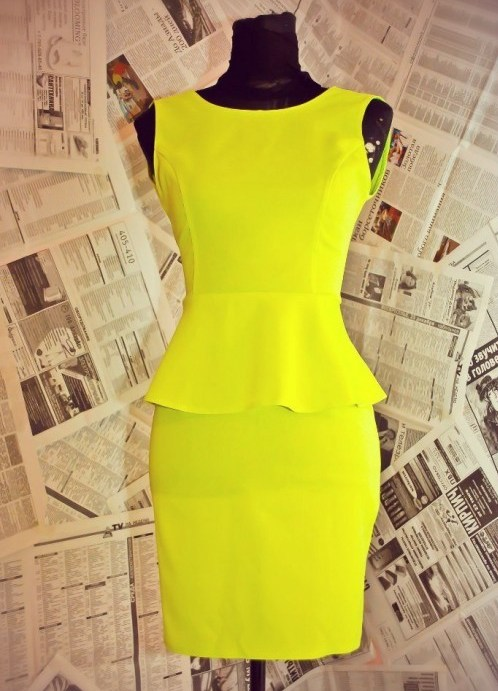 Платье из габардина картинки