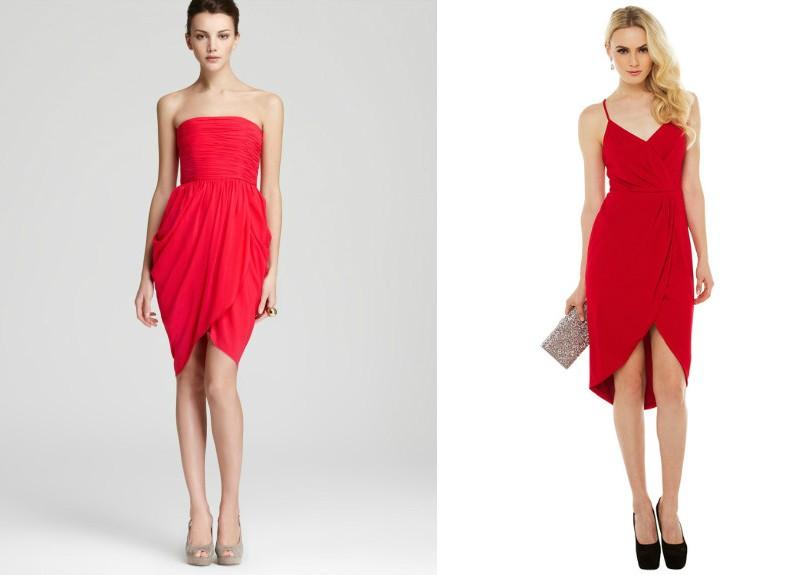 Длинные платья для худых женщин