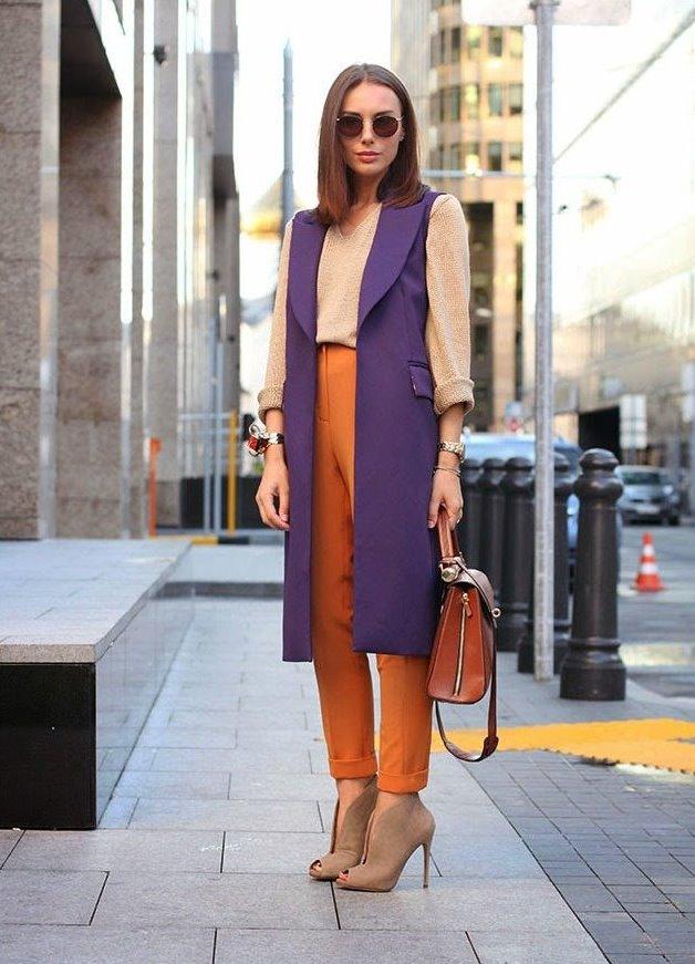 Пальто жилет юбка