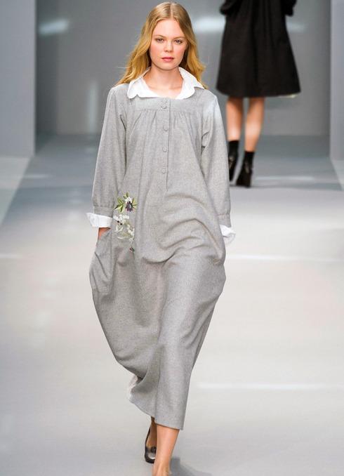 Платья балахоны с чем носить