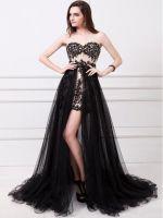 Платье со съемной юбкой