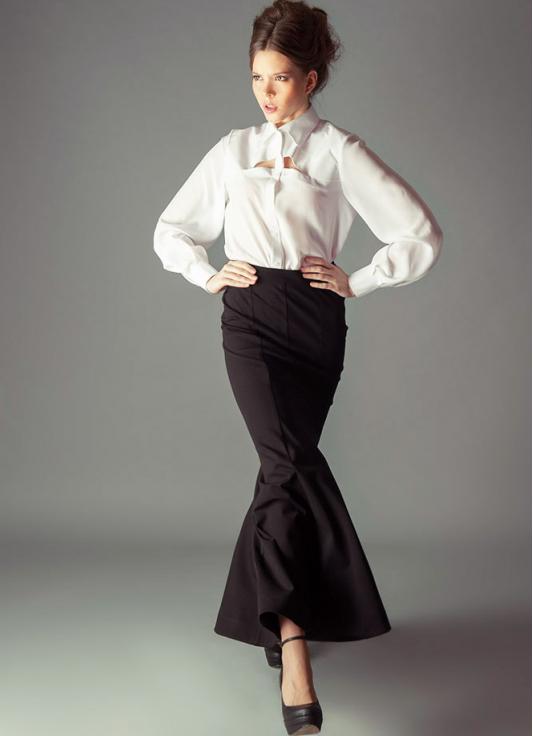 модели юбок годе для полных