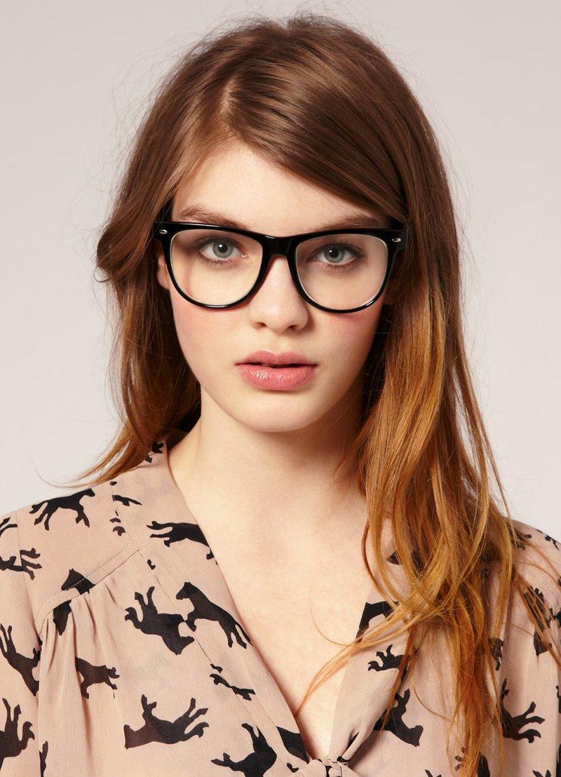имиджевые очки фото девушек