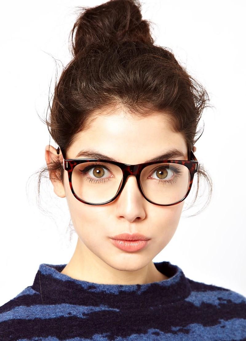 Квадратные очки для девушек фото