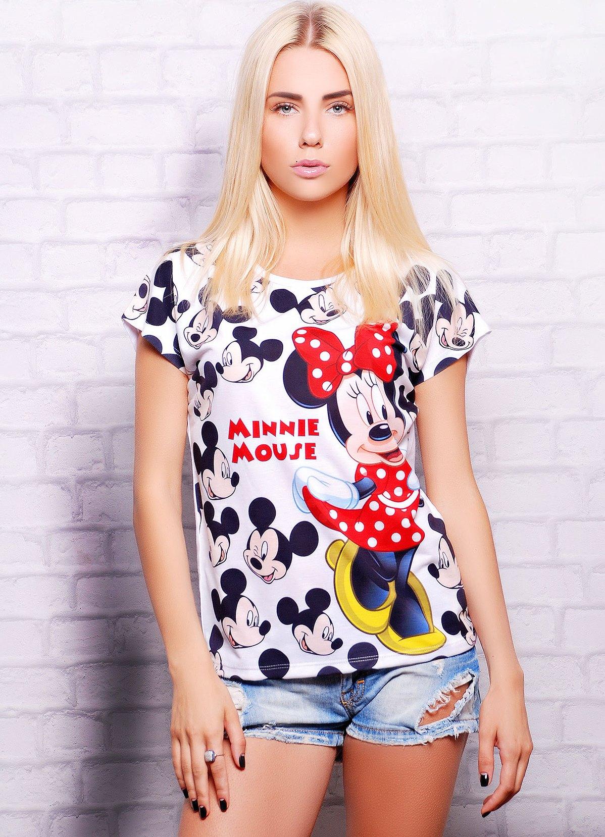 женские футболки стильные фото