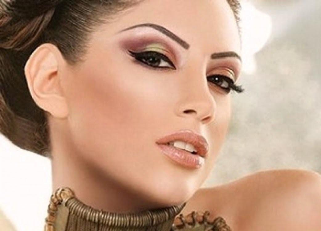 макияж для карих глаз в греческом стиле