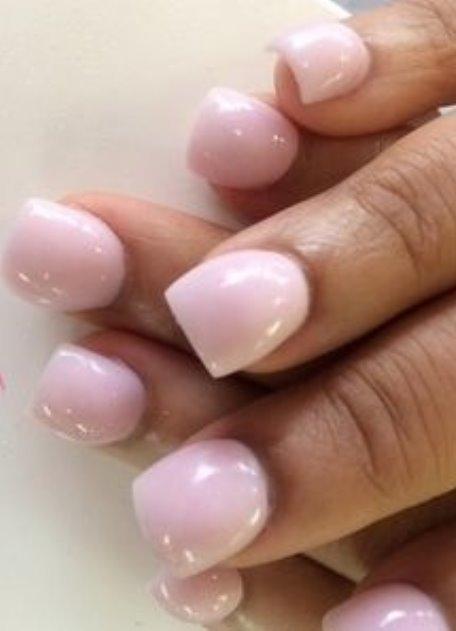 Нарощенные ногти фимо 83
