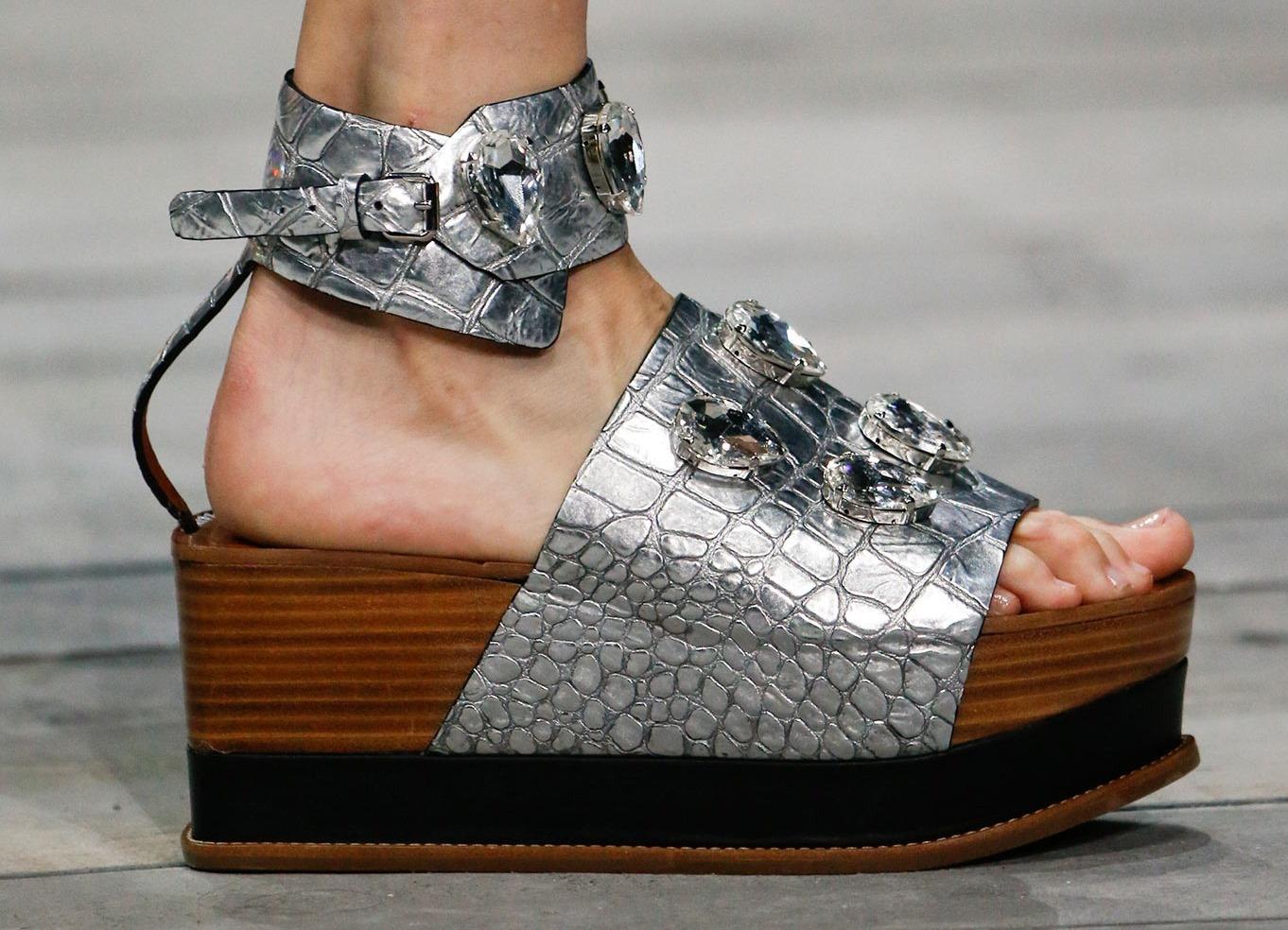 Фото модная обувь на платформе