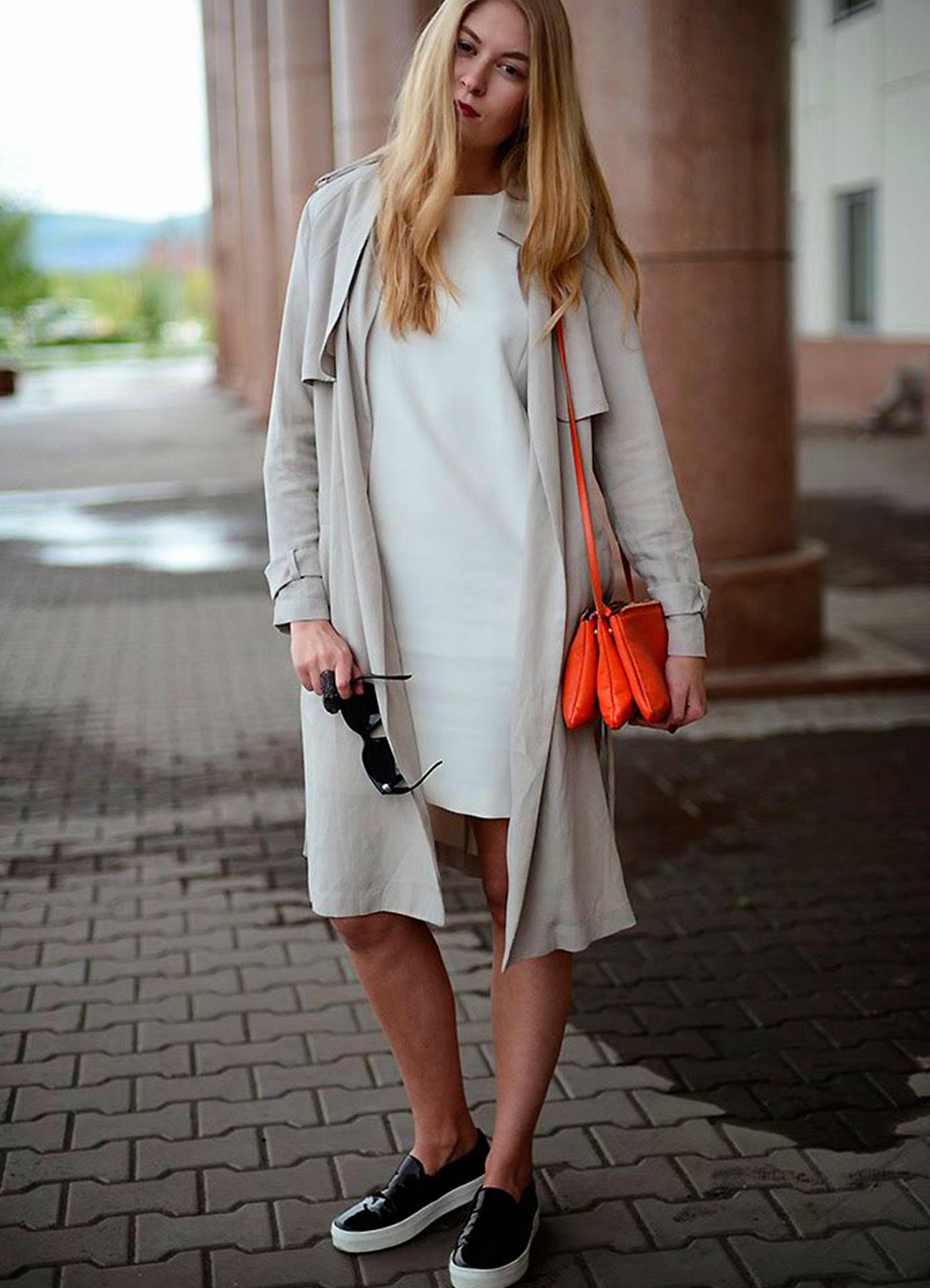 Модные луки со слипонами
