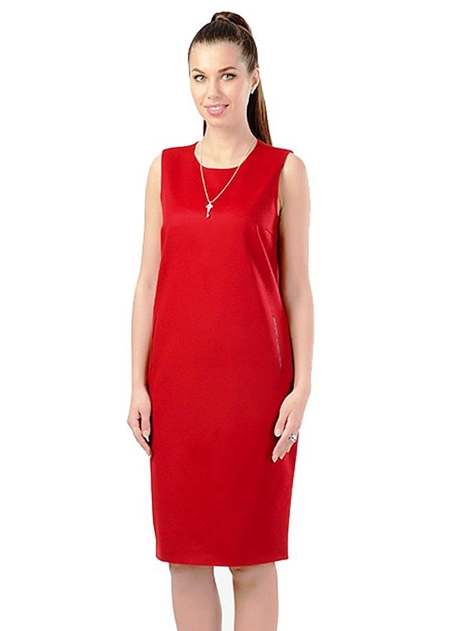 Платье прямое без рукавов своими руками 12