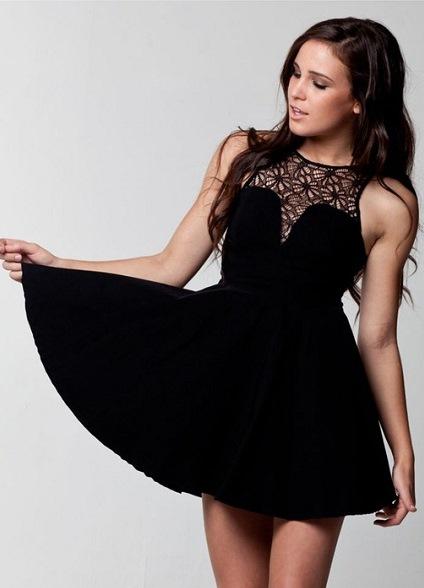 Можно ли одеть черное платье на выпускной