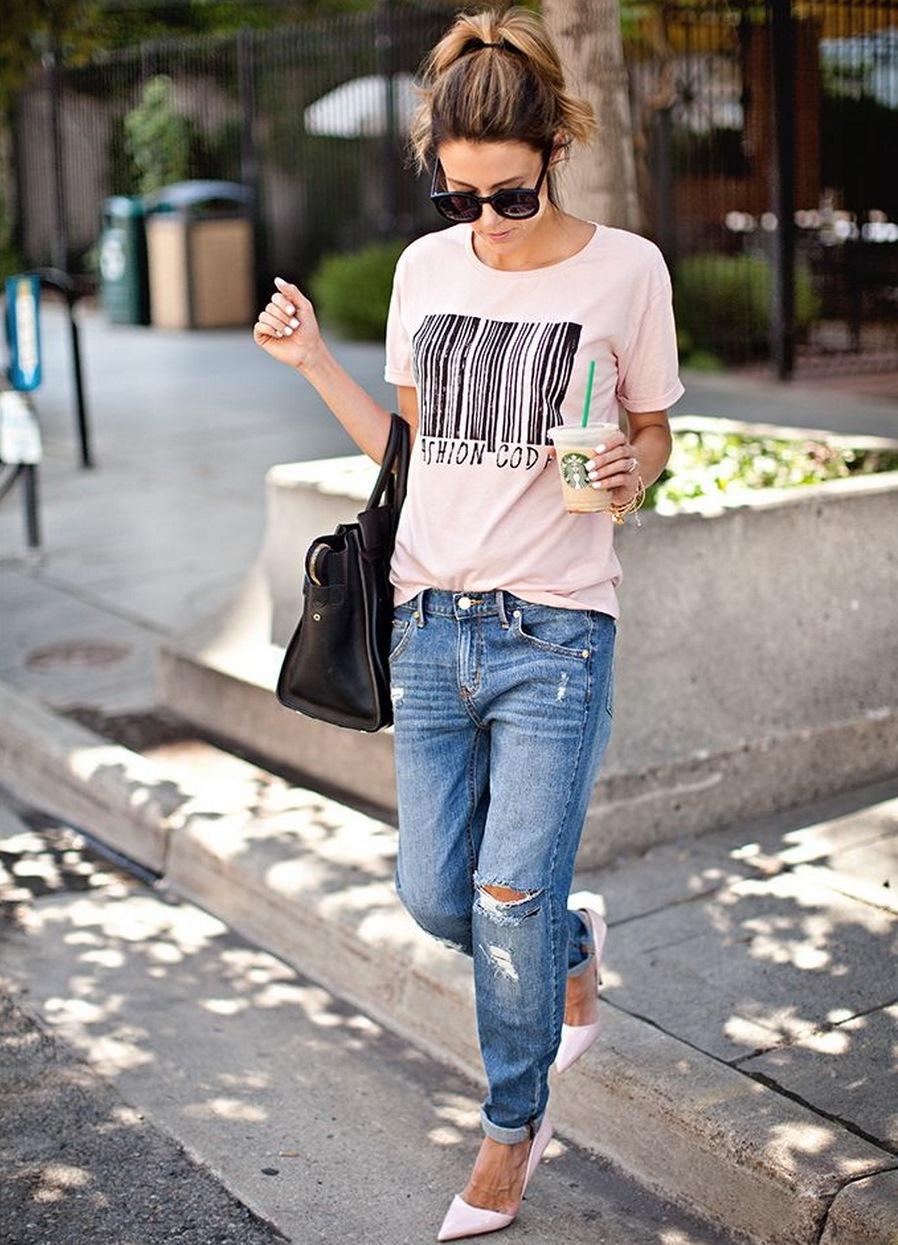 Фото девушек на аву в джинсах со спины