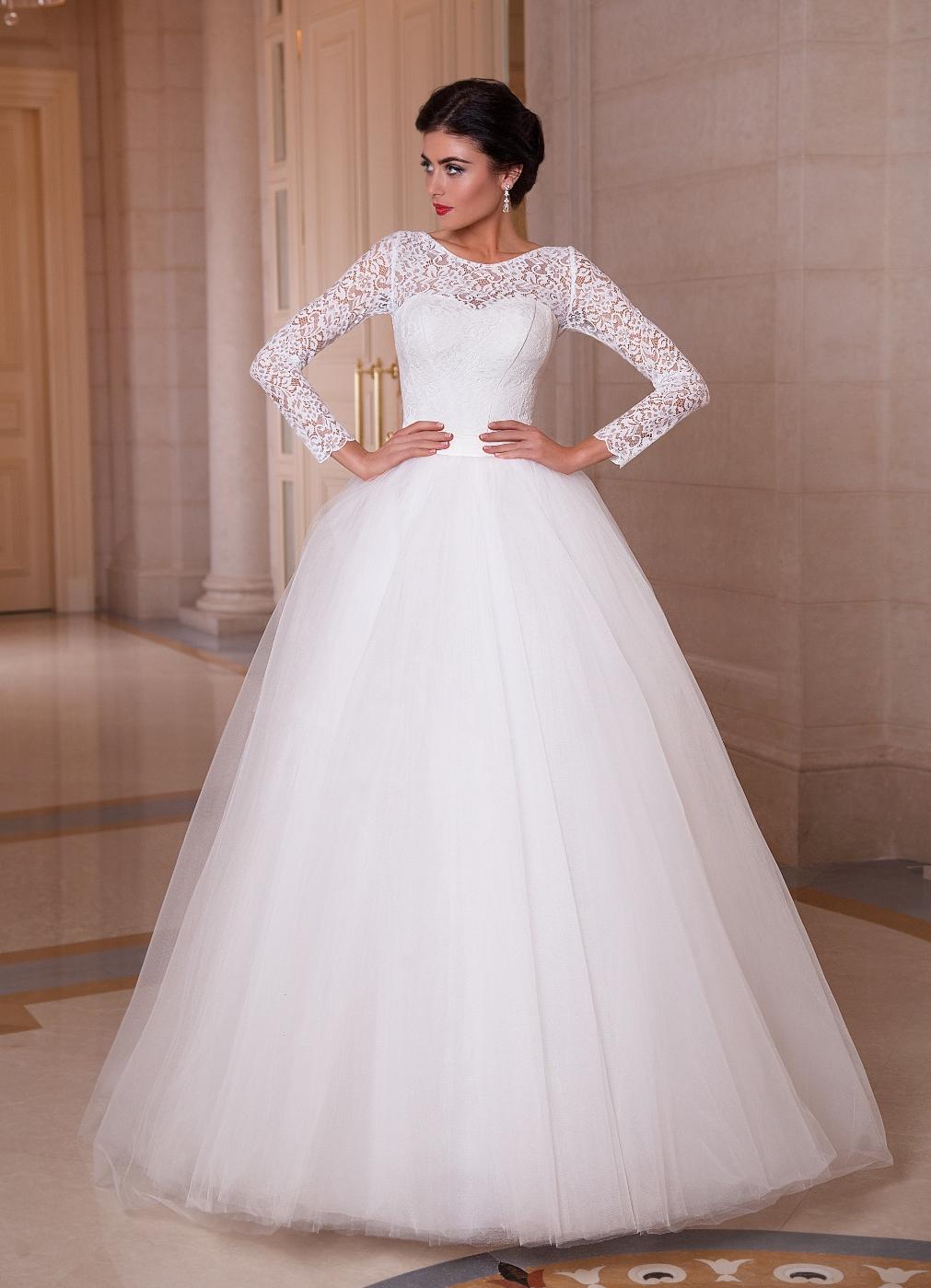 Лебедь платье свадебное