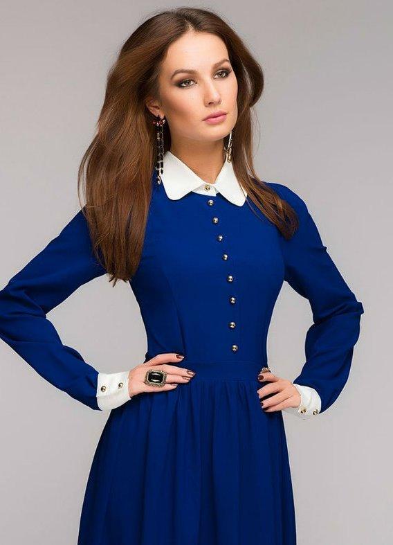 Синее платье о чем говорит