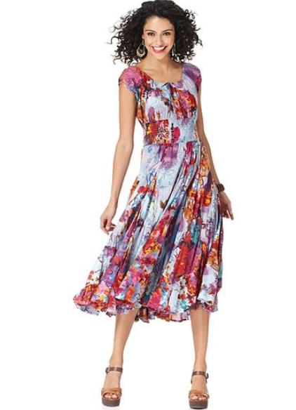 Платья Для Женщин Летние