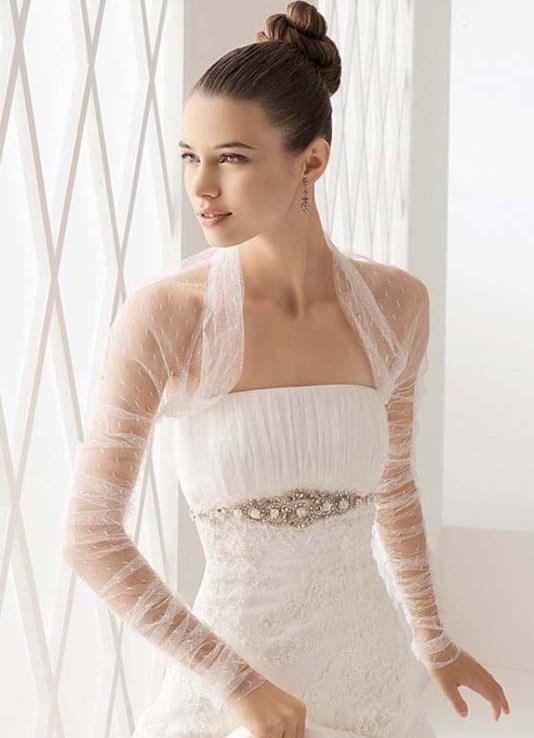 Болеро для свадебного платье