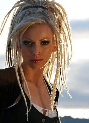 Дреды на короткие волосы женские фото