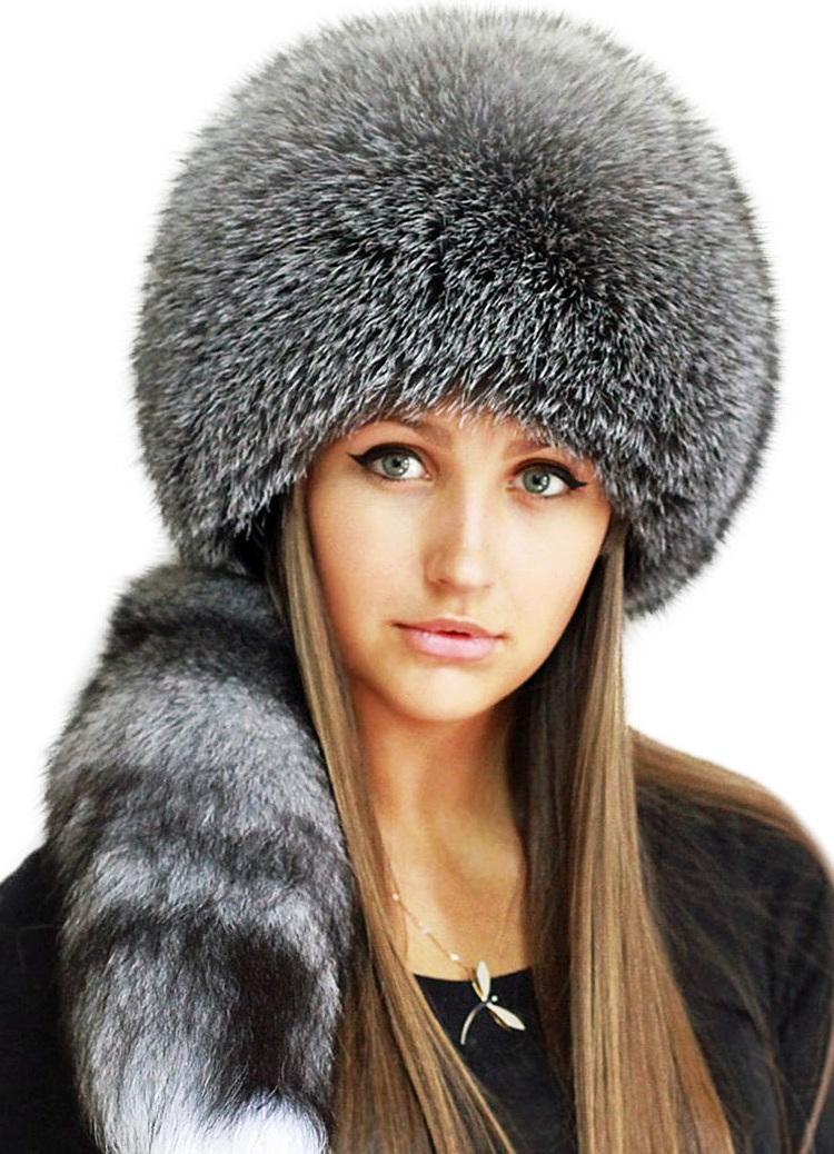 Шапки меховые женские зима 2017