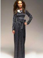 Платье с длинным рукавом – модные фасоны на все случаи жизни