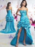 Вечерние платья со шлейфом – самые лучшие короткие и длинные фасоны