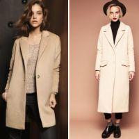 Женское бежевое пальто – отличная основа для модного образа