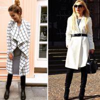 Белое пальто – с чем носить и как создать стильный образ?