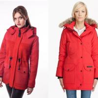 Женская красная парка – кому подходит и с чем носить в новом сезоне?
