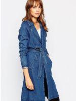 Джинсовое пальто – кому идет, с чем носить, и как создать модный образ?