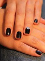 Черный дизайн ногтей – лучшие идеи и стильные решения для маникюра в черном цвете