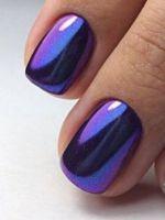 Дизайн ногтей с втиркой – самые модные идеи и красивые решения