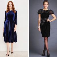 Платье из бархата – 34 фото модных образов для любого случая