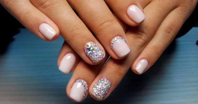 Ногти розово черные дизайн фото