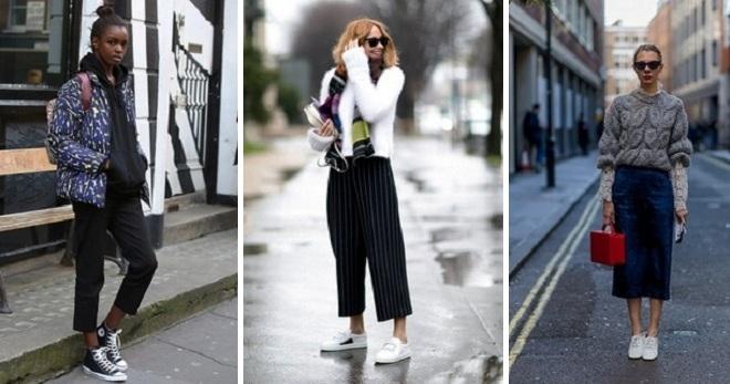 Модные образы 2017 – самые стильные луки для девушек и женщин