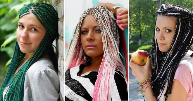 Косы с канекалоном – новый тренд в прическах с плетением