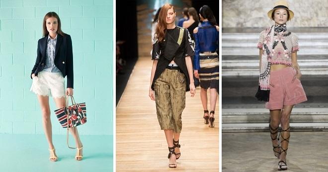 Женские летние шорты – какие шорты в моде этим летом?