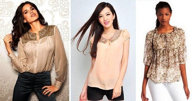 Модные Блузки Из Шифона Фото В Уфе