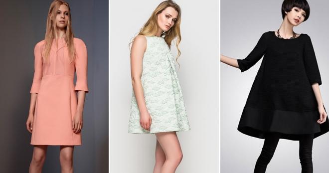 Платье А-силуэта – стильные наряды на каждый день и не только!
